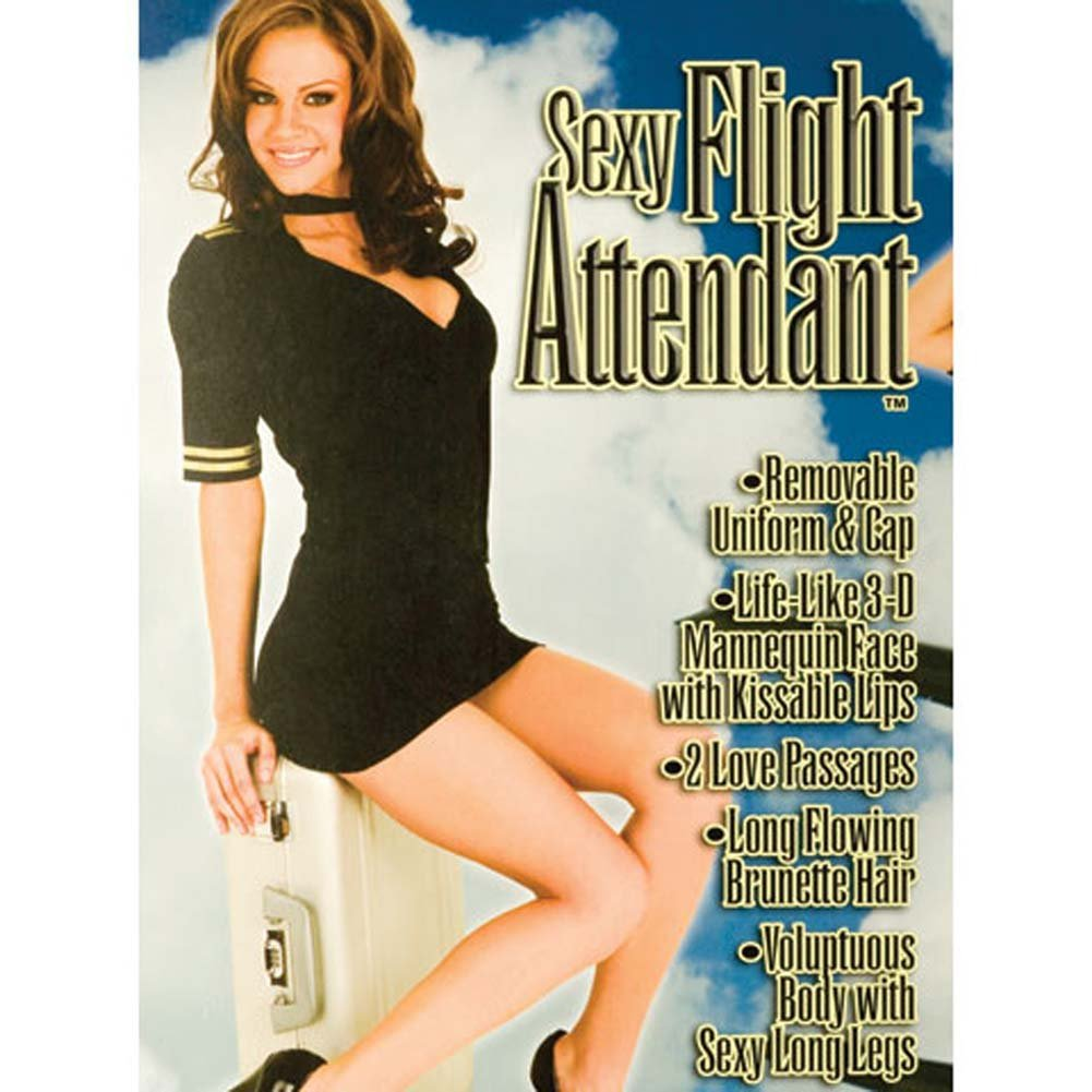 California Exotics Sexy Flight Attendant Inflatable Doll - View #2