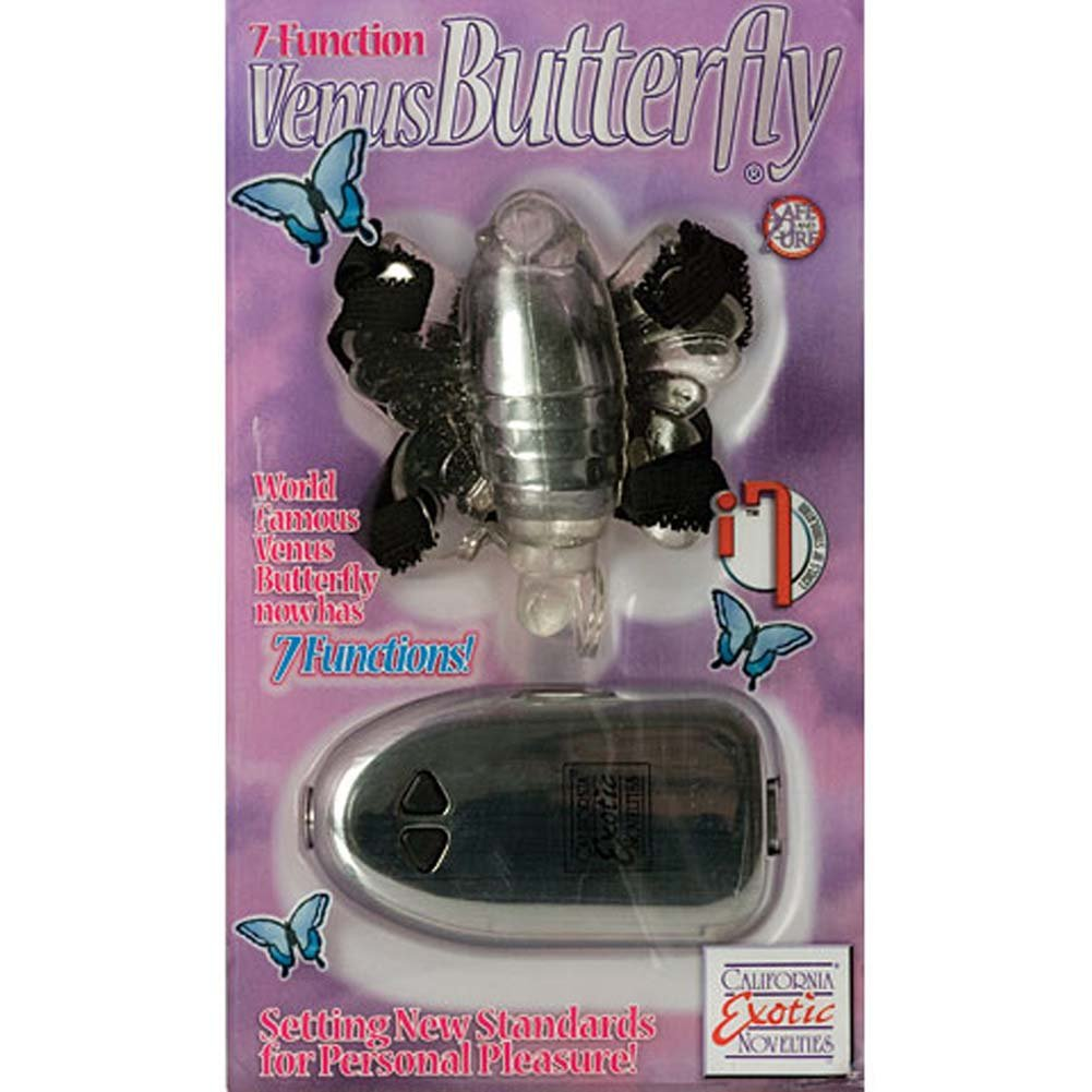 7 Function Venus Strap-On Vibrating Butterfly - View #4