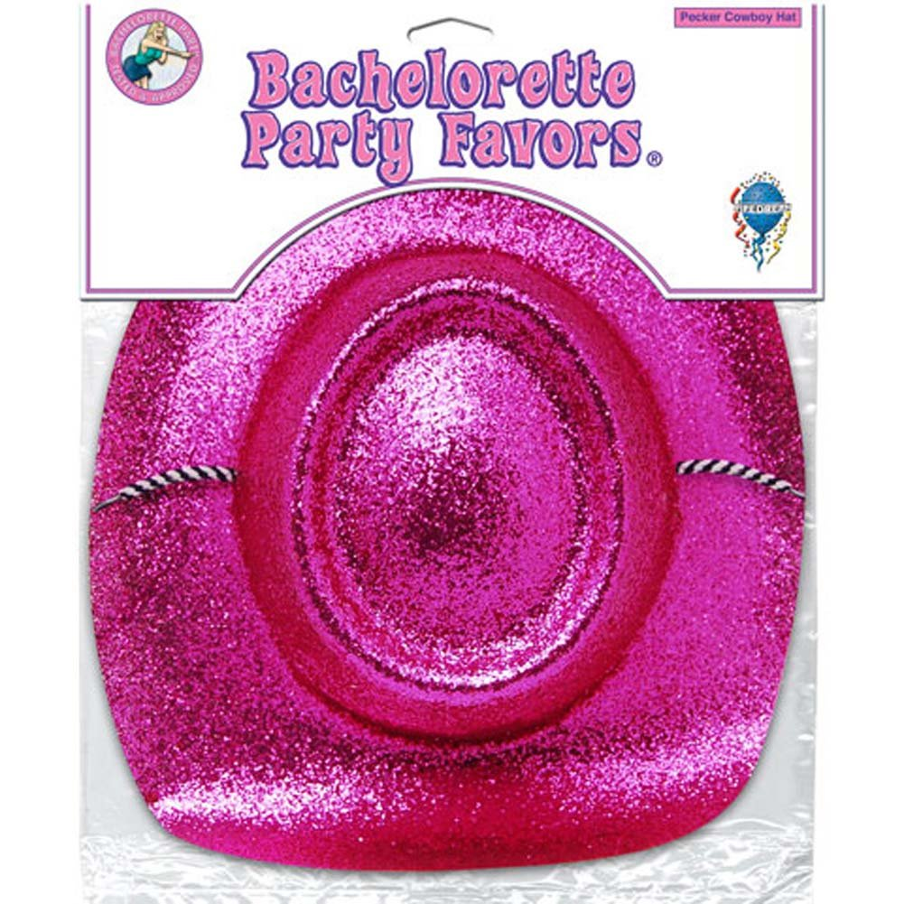 Bachelorette Party Favors Pecker Cowboy Hat - View #2