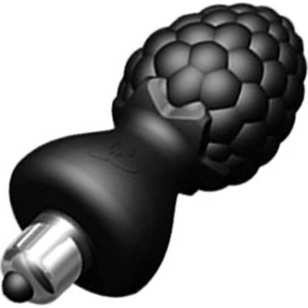 "Rocks-Off Ass Berries Waterproof Vibrating Butt Plug 3.25"" Blackberry Black - View #2"