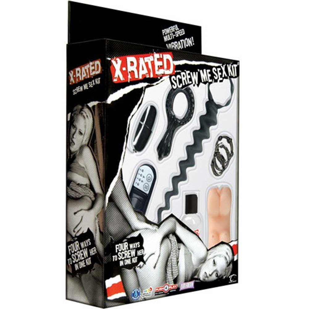 X Rated Waterproof Screw Me Sex Kit - View #4