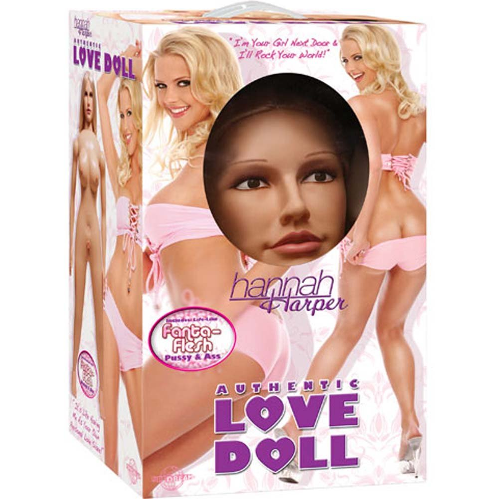 Hannah Harper Vibrating Authentic Love Doll - View #4
