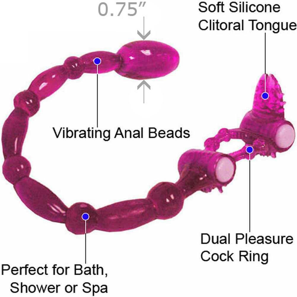 Super Xtreme Scorpion with Clitoral Tongue and Anal Vibe Purple - View #1