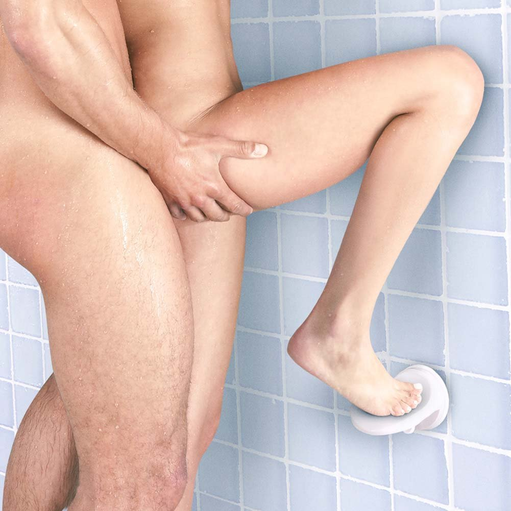 Sex in the Shower Single Locking Suction Foot Rest - View #1