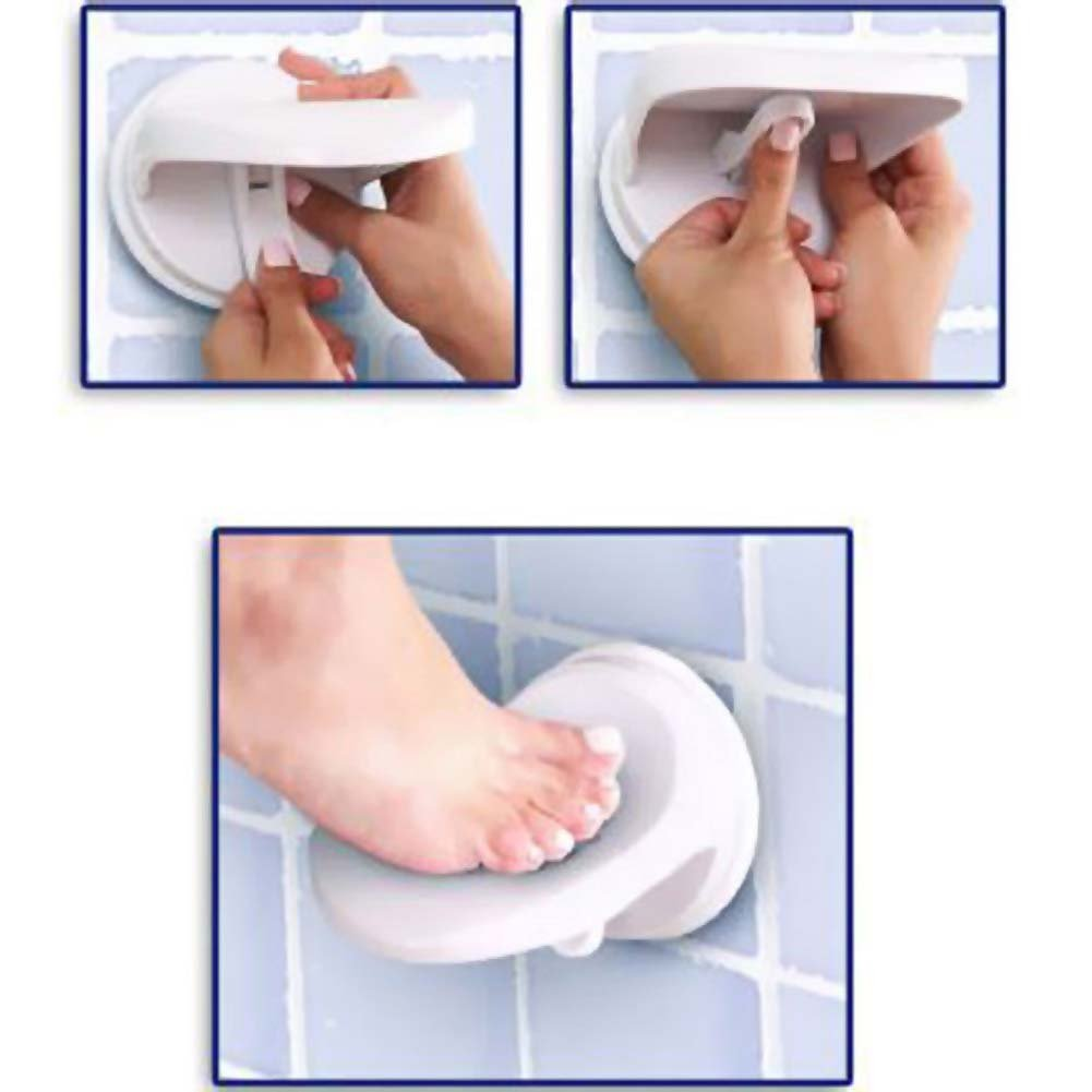 Sex in the Shower Single Locking Suction Foot Rest - View #3