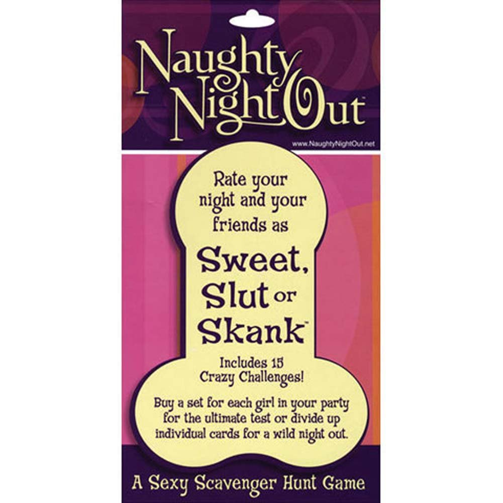 Naughty Night Out Sweet Slut or Skank Game - View #3