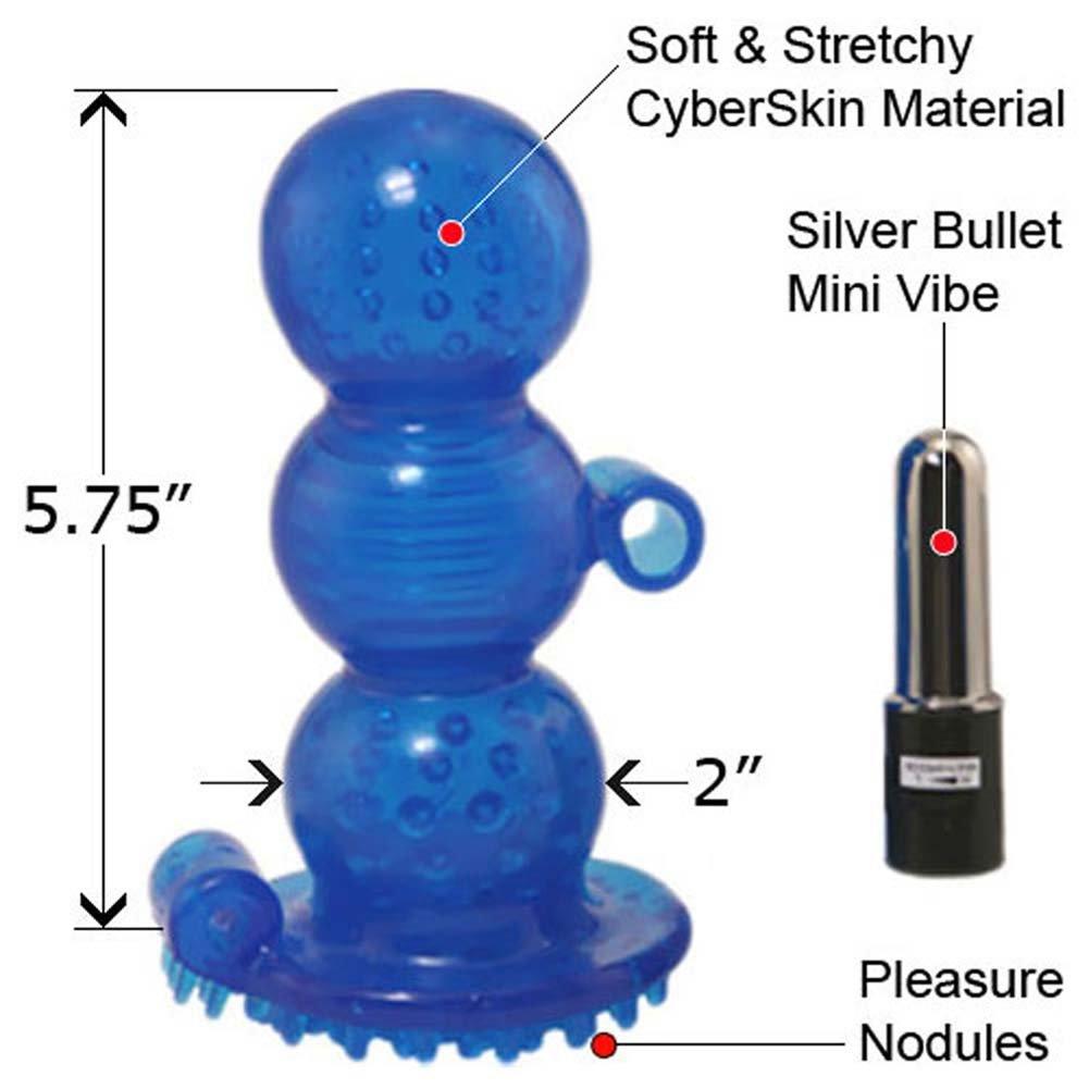 CyberSkin 5X Vibrating Royal Grip Waterproof Stroker - View #1