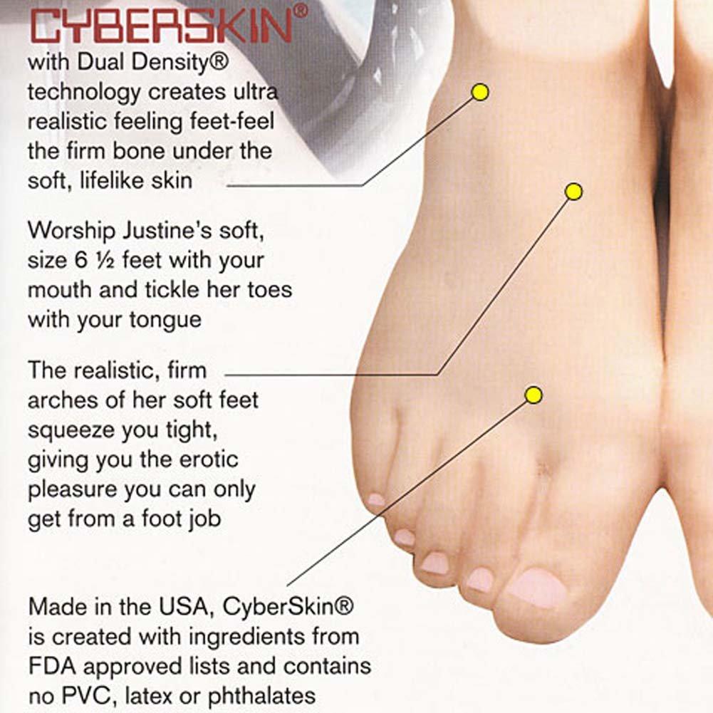 Penthouse Justine Joli CyberSkin Foot Job Stroker - View #2