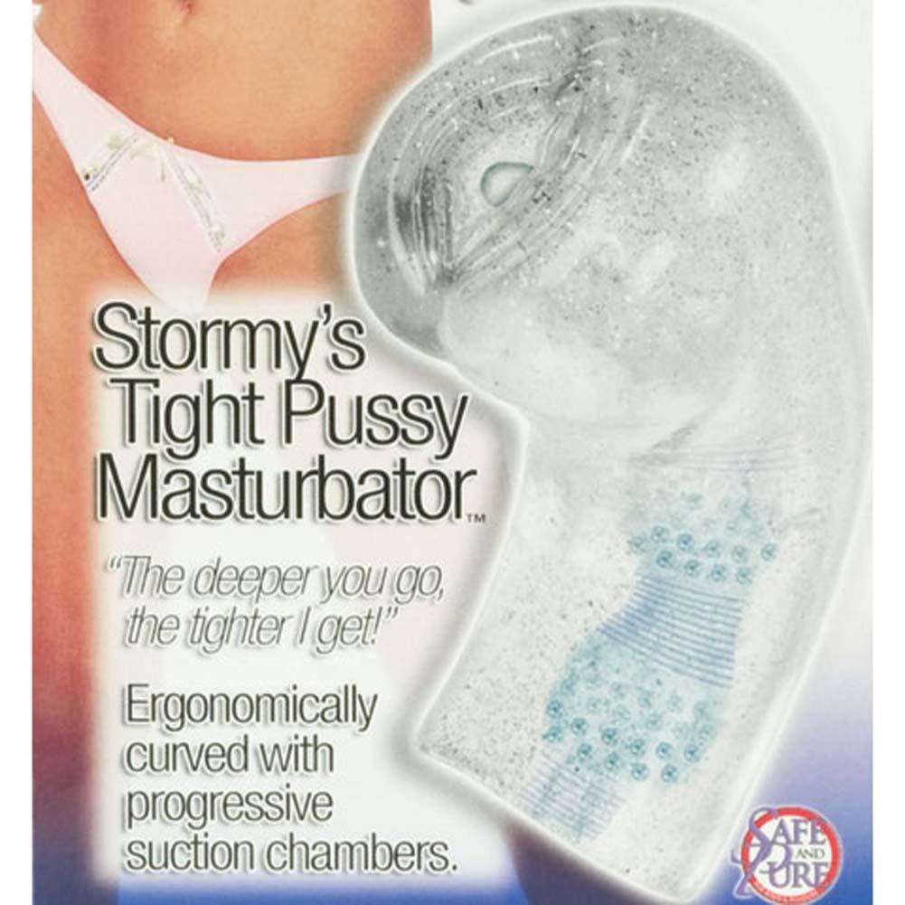 California Exotics Wicked Stroker Stormys Tight Pussy Jelly Masturbator Clear - View #3