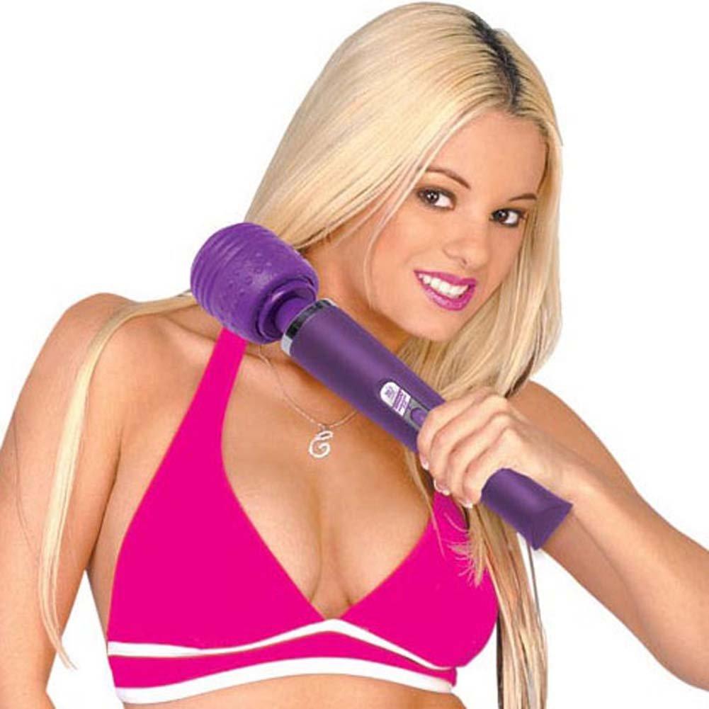 Rechargeable 2.0 Magic Massager 110 Volt Purple - View #1