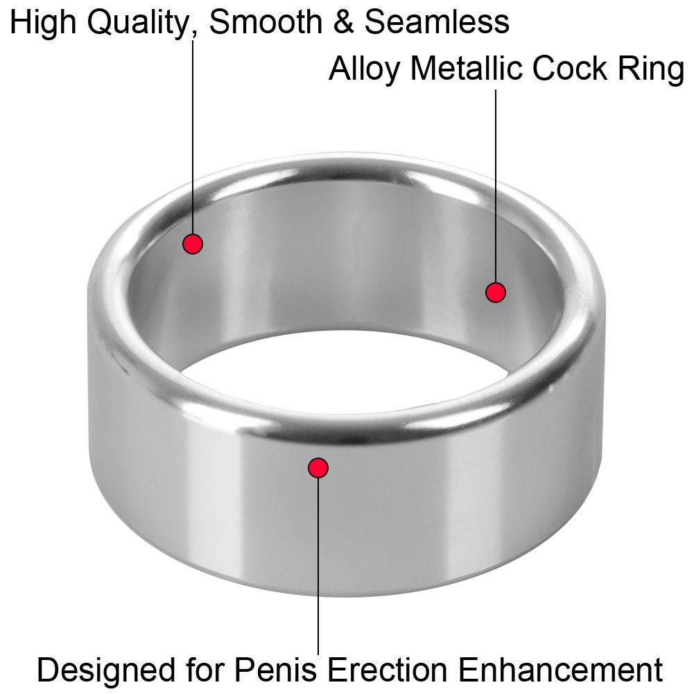 "CalExotics Alloy Metallic Penis Enhancement Ring Medium 1.5"" - View #1"