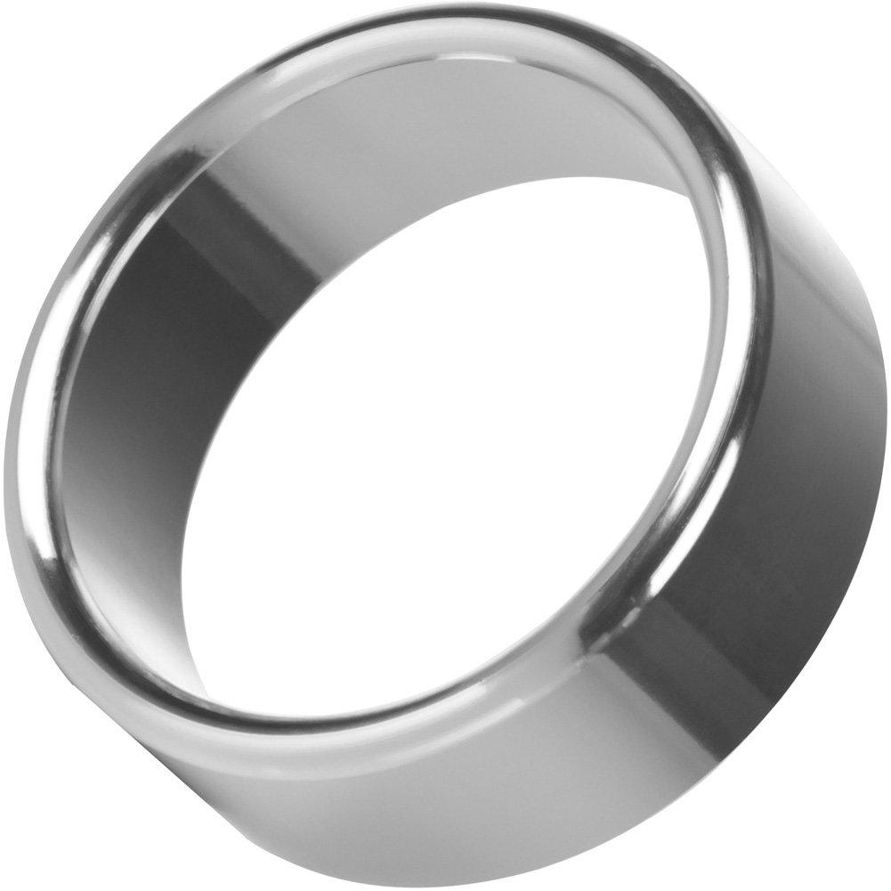 "CalExotics Alloy Metallic Penis Enhancement Ring Large 1.75"" - View #2"