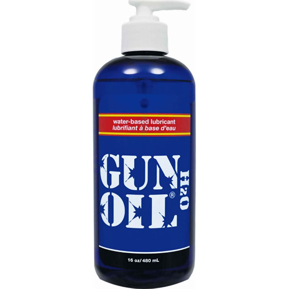 Gun Oil H2O Water-Based Personal Lubricant 16 Fl.Oz 480 mL - View #2