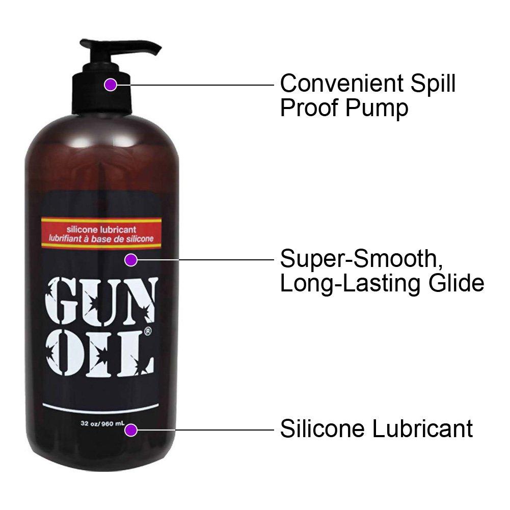 Gun Oil Premium Silicone Personal Lubricant 32 Fl.Oz 60 mL - View #1