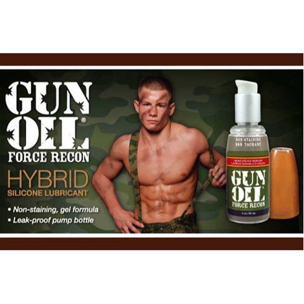 Gun Oil Force Recon Lubricant 4 Fl. Oz. - View #2