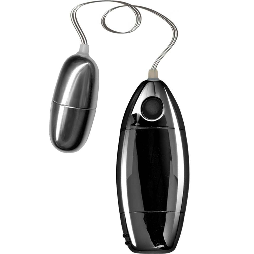Synergy Perfect Touch Excite Her Silver Bullet Vibrator Black - View #2
