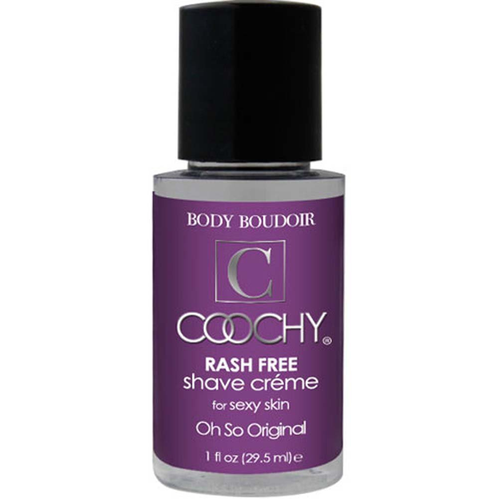Coochy Rash Free Shave Creme Oh So Original 1 Fl. Oz. - View #1