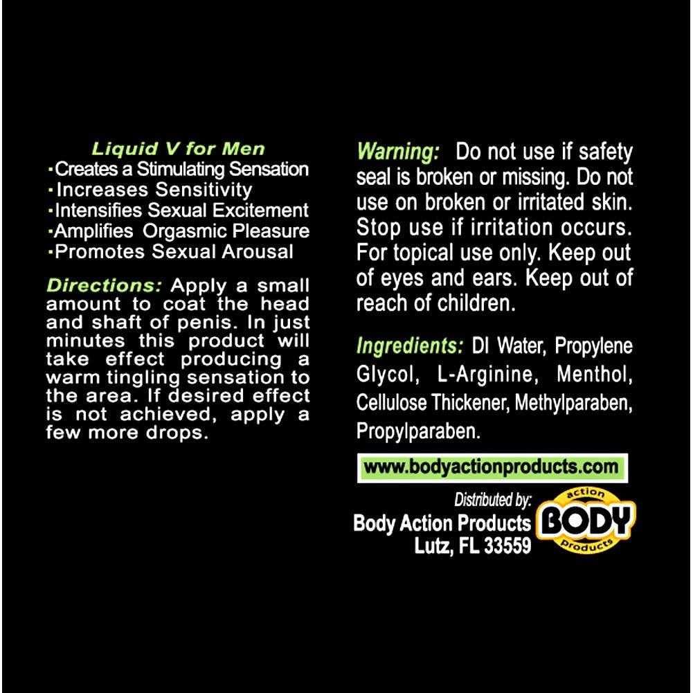 Liquid V for Men Stimulating Gel 1 Fl.Oz 30 mL - View #1