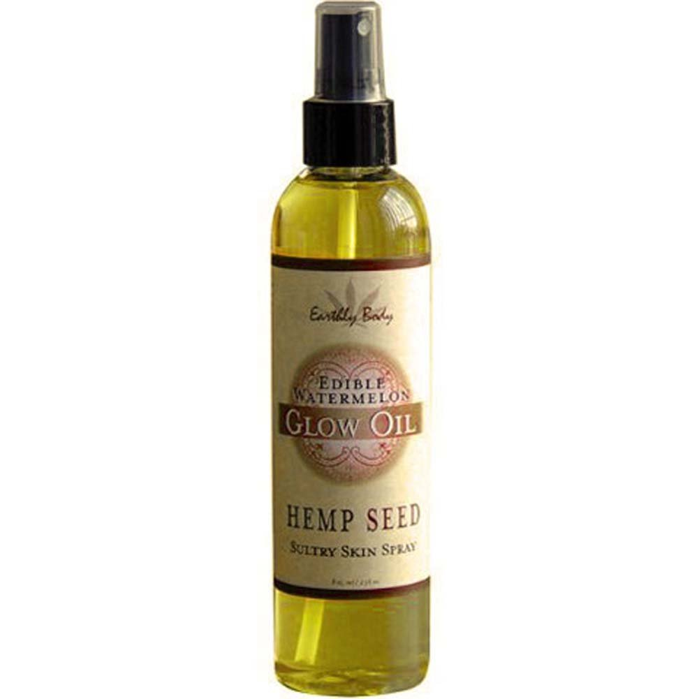 Glow Oil Edible Chocolate Hemp Seed 8 Fl. Oz. - View #1