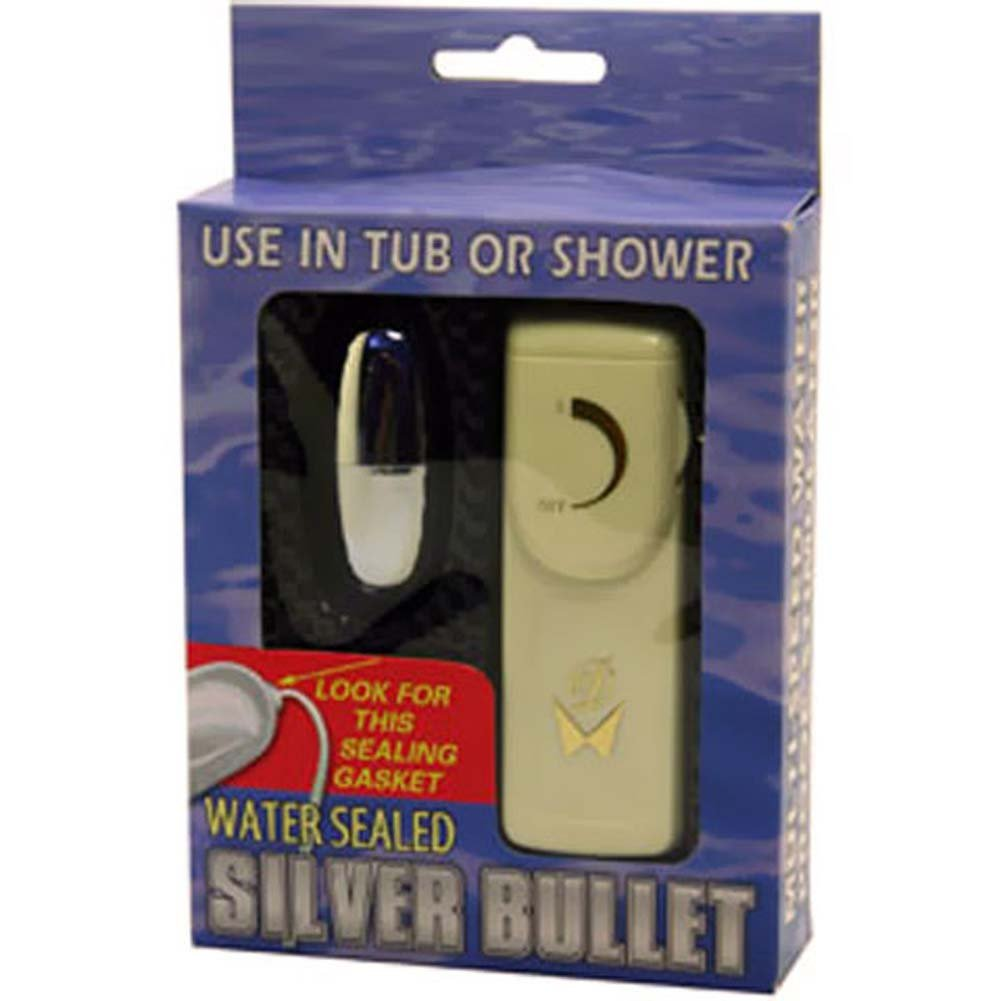"""Water Sealed Vibrating Silver Bullet 2.25"""". - View #3"""