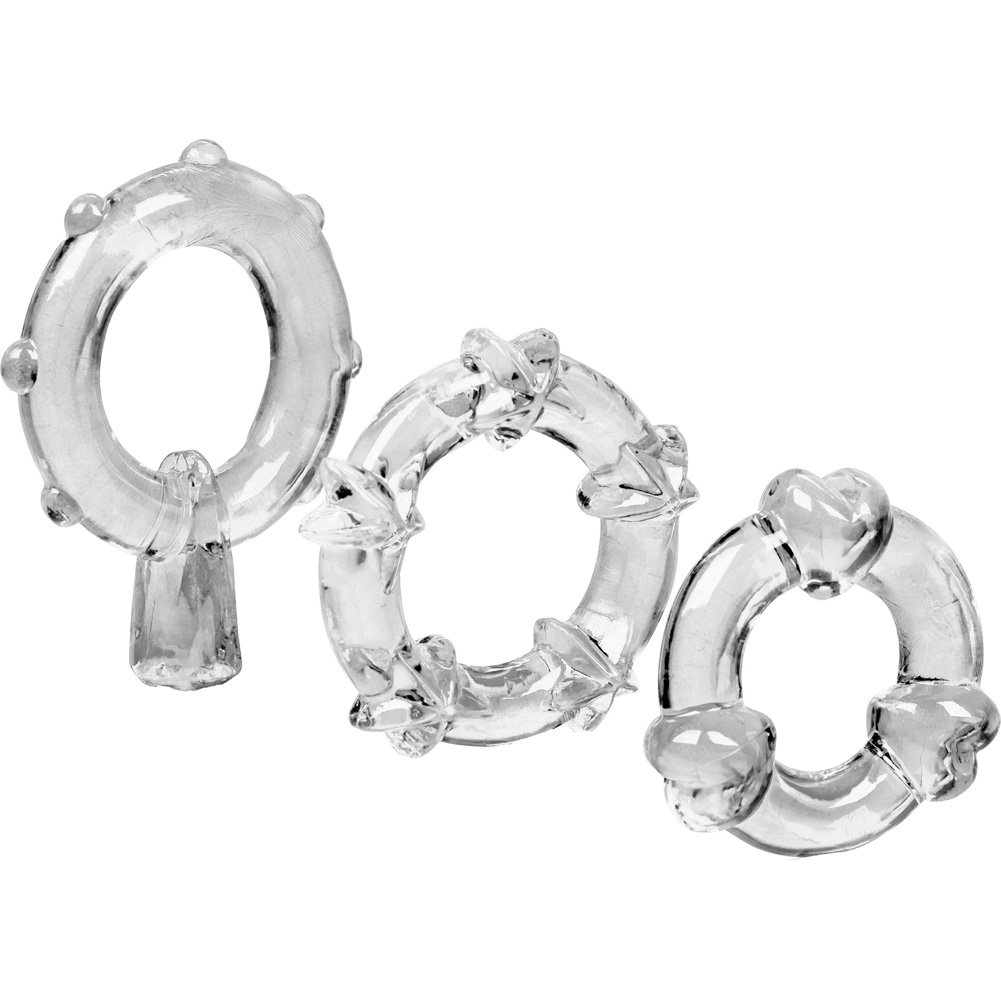 Magic Jelly Rings 3 Pack Clear - View #3