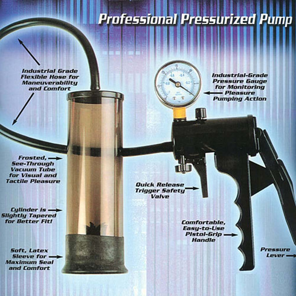 Top Gauge Professional Pressurized Pump Black RbDV - View #3