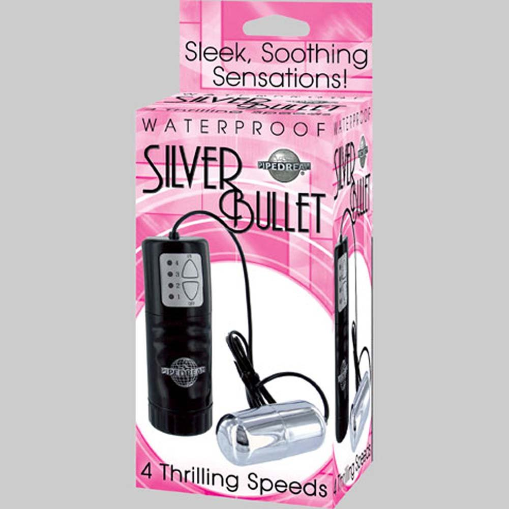 Waterproof Vibrating Silver Bullet - View #3