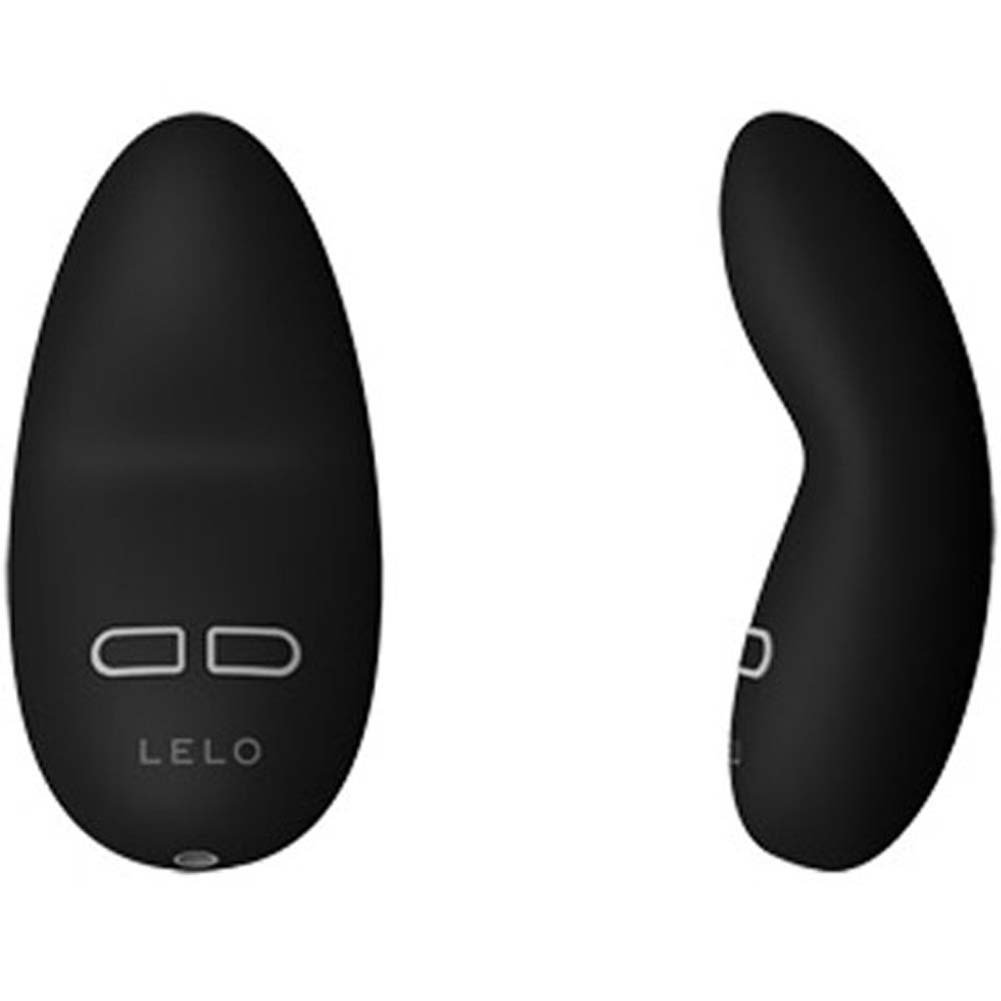 "Lelo Lily Rechargeable Luxury Intimate Vibrator 3"" Ebony - View #1"