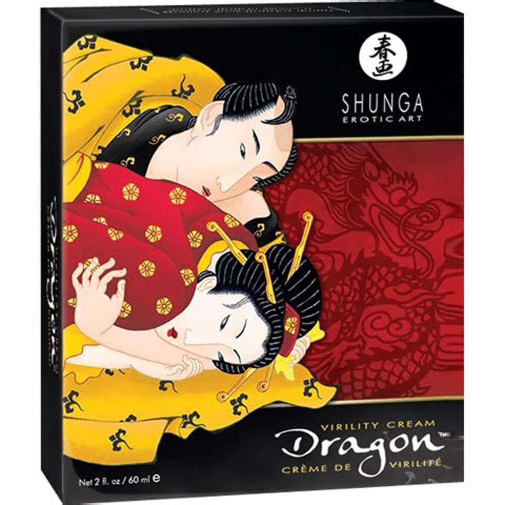 Shunga Dragon Virility Cream 2 Fl. Oz. - View #1