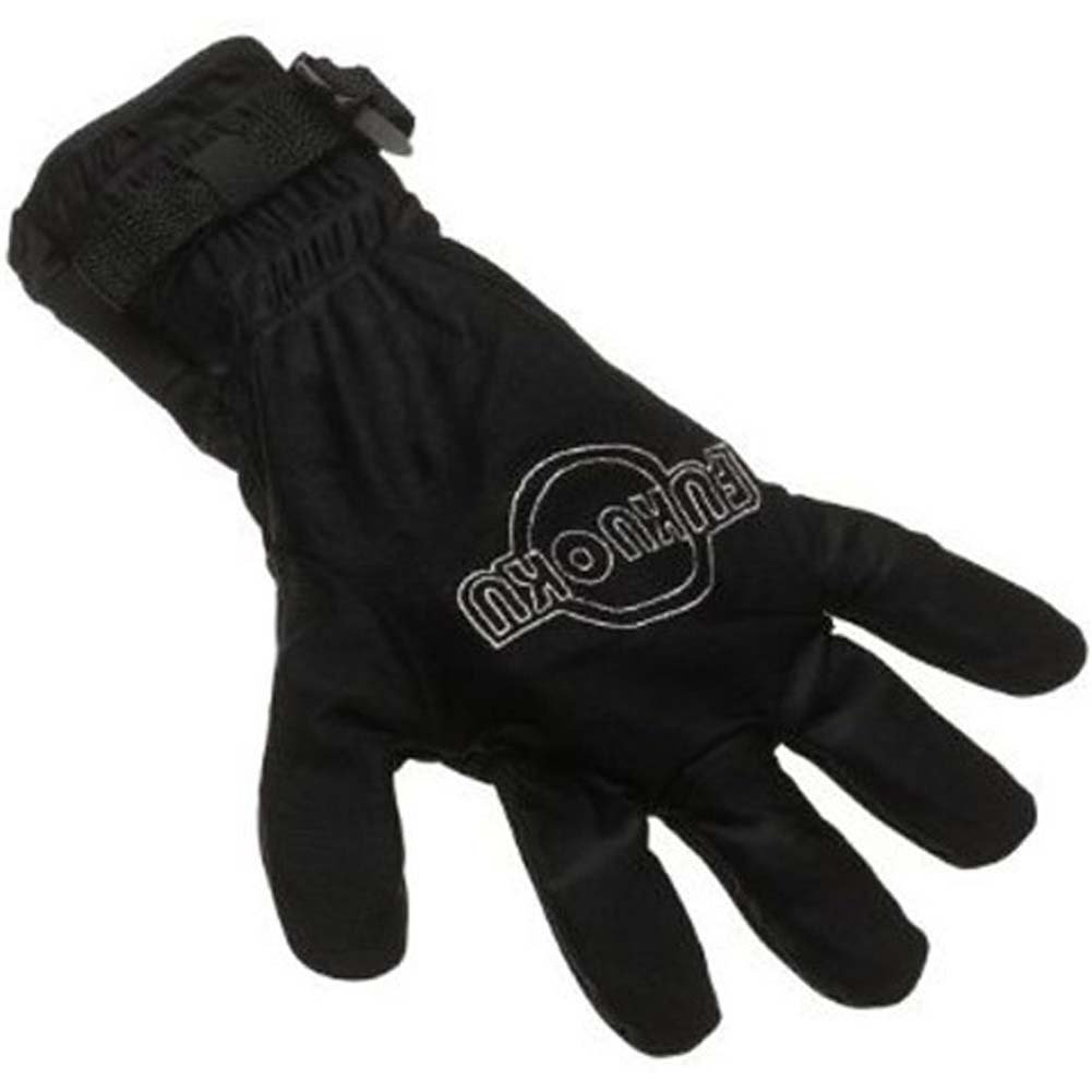 Fukuoku Vibrating Massage Glove Left Handed Black - View #1