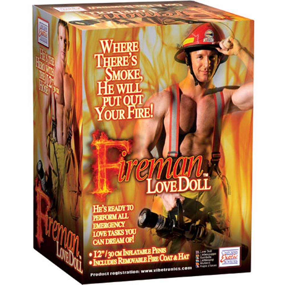 California Exotics Fireman Inflatable Love Doll - View #1
