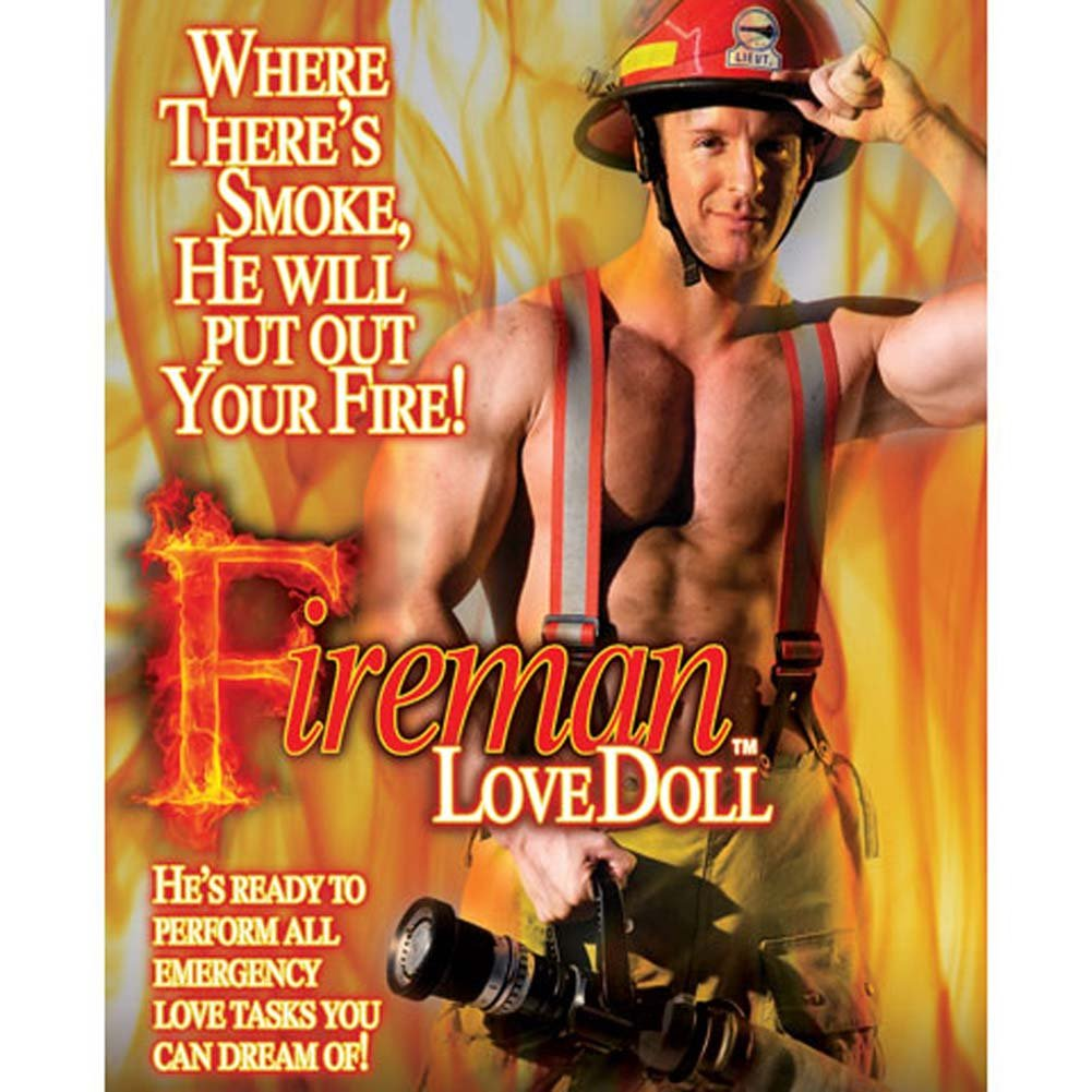 California Exotics Fireman Inflatable Love Doll - View #3