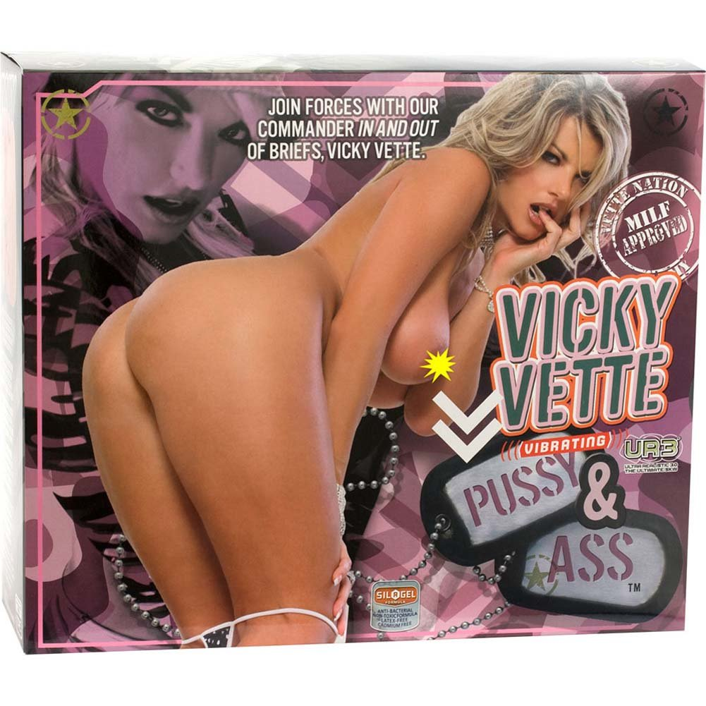 Vicky Vette UR3 Vibrating Pussy and Ass Masturbator - View #4