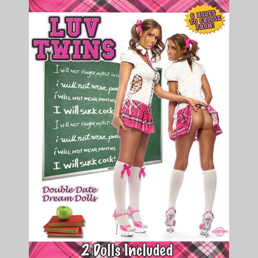 Luv Twins Double Date Dream Inflatable Dolls. - View #1