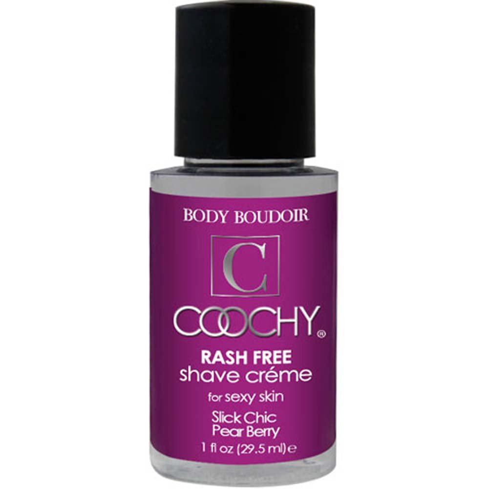 Coochy Rash Free Shave Creme Slick Chic Pear Berry 1 Fl. Oz. - View #1