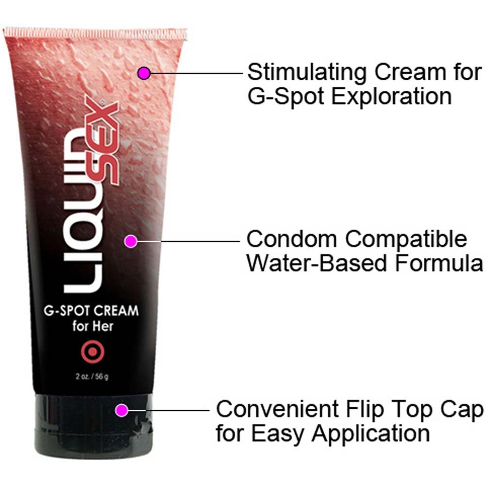 Liquid Sex G-Spot Arousal Cream for Her 2 Fl.Oz. Tube - View #1