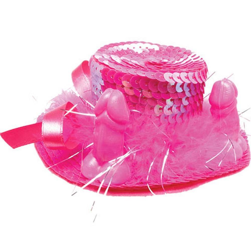 Bachelorette Party Favors Pecker Barette LargeHot Pink - View #2