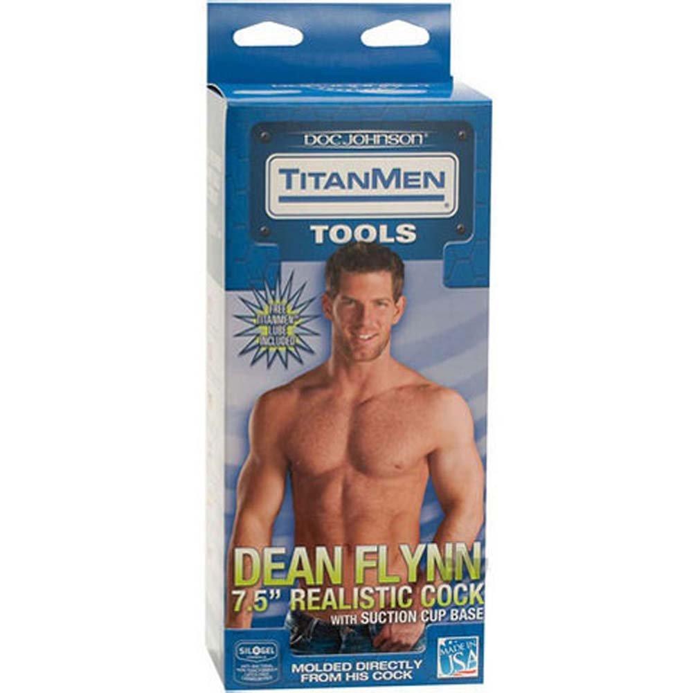 """TitanMen Dean Flynn Realistic Cock 8.5"""" Natural - View #3"""