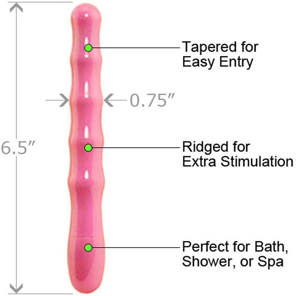 "My First Anal Slim Waterproof Vibe 6.5"" Pink - View #1"