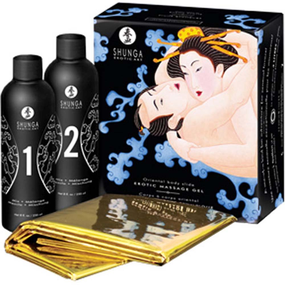 Shunga Oriental Body Slide Erotic Nuru Massage Gel Kit Exotic Fruits - View #1