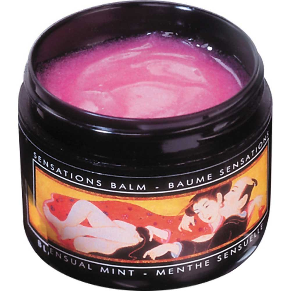 Shunga Sensations Balm 2 Fl. Oz. 60 mL Sensual Mint - View #2