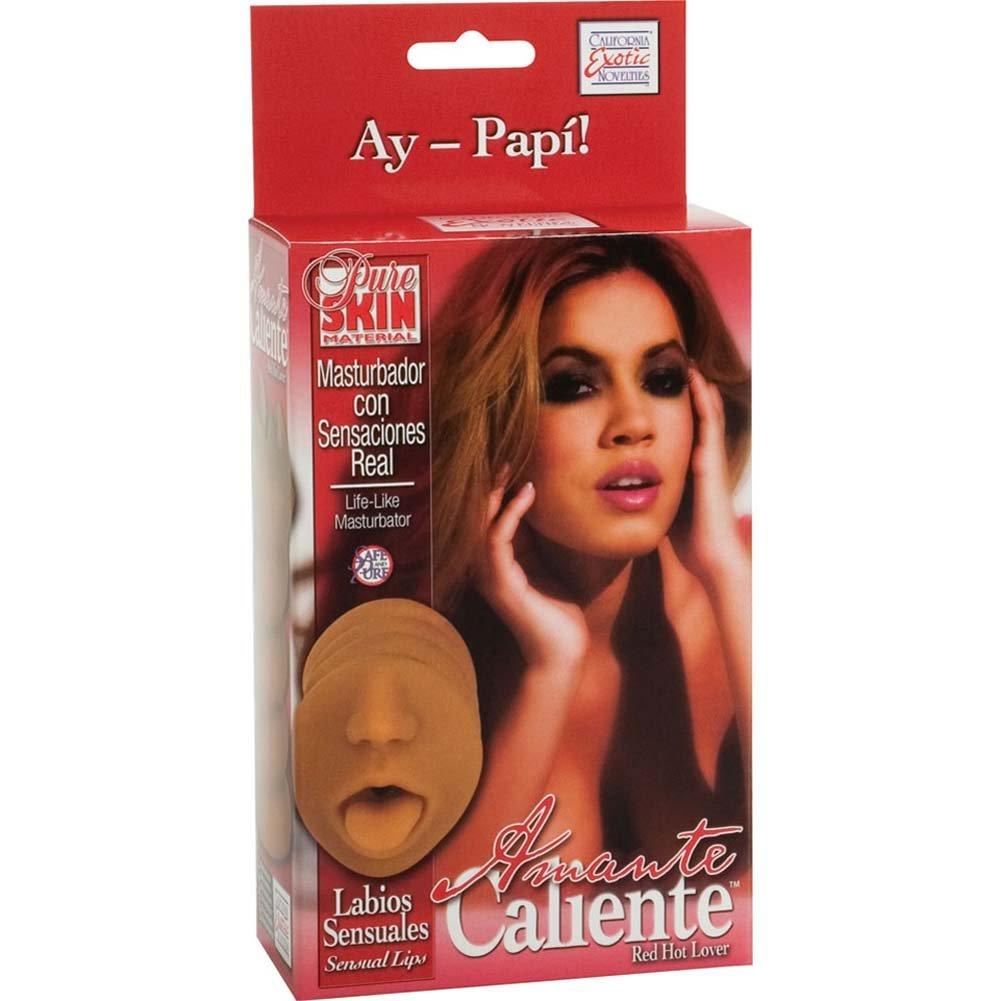Amante Caliente Labios Sensuales Sensual Lips Masturbator for Men - View #1