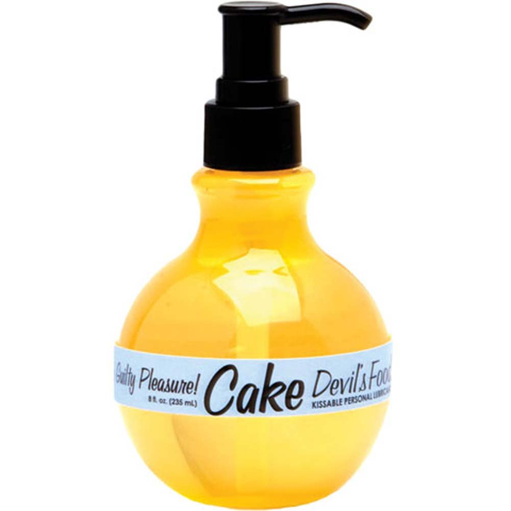Cake Kissable Personal Lubricant Devils Food 8 Fl. Oz. - View #2