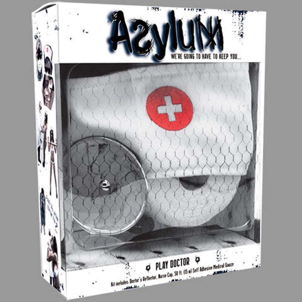 Asylum Play Doctor Kit Medical White - View #4