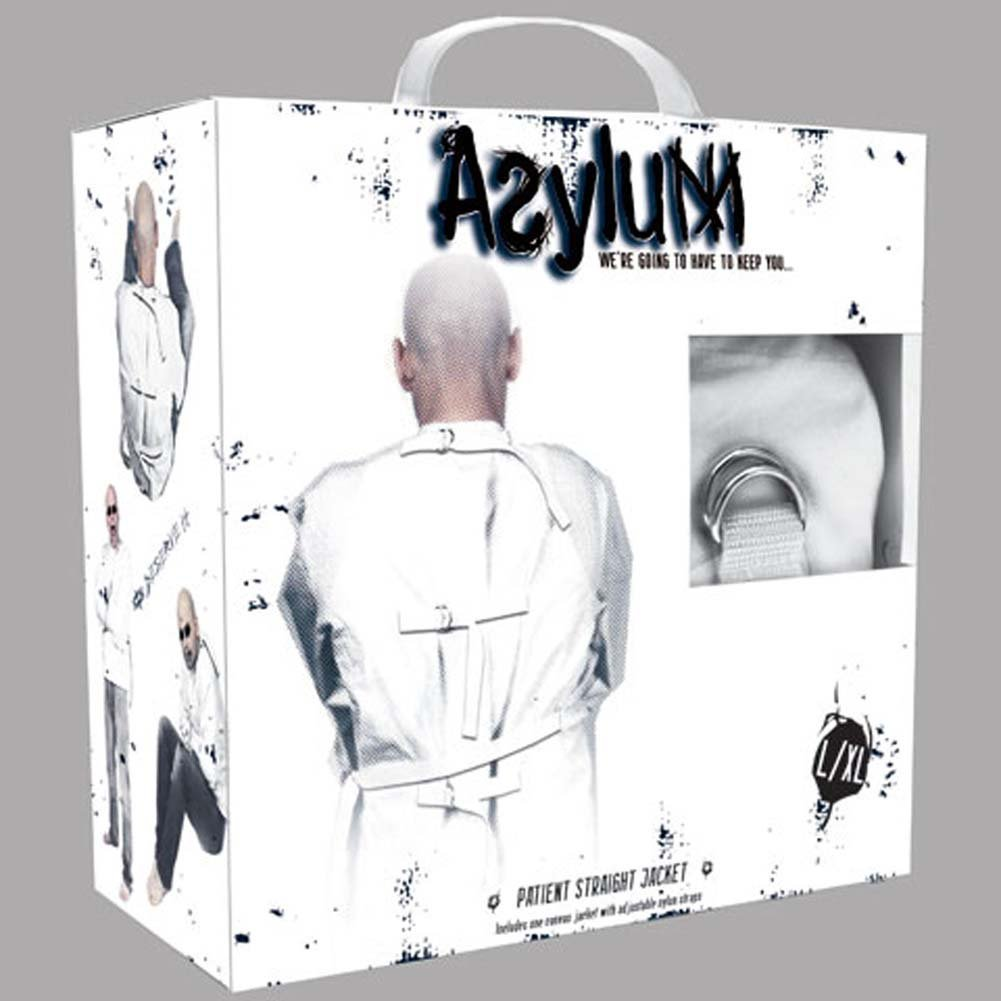 Asylum Patient Straight Jacket Large/XLarge - View #2