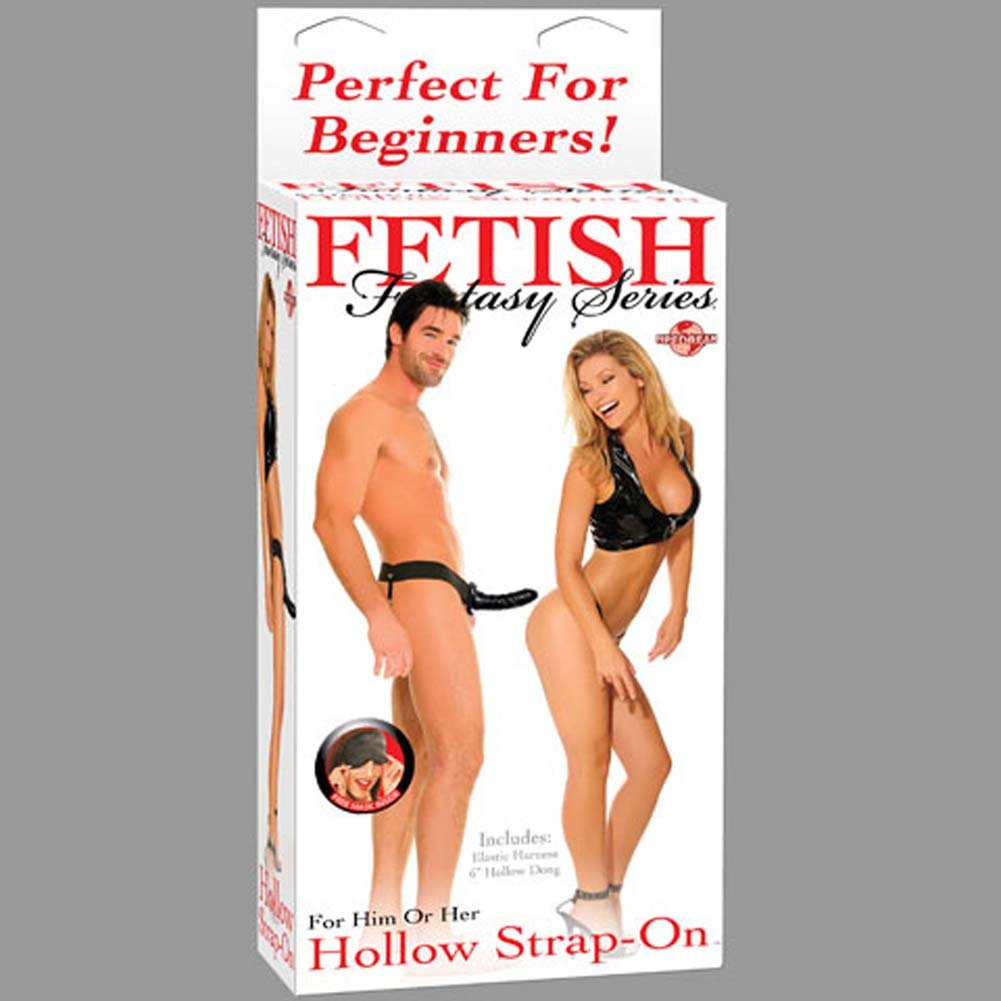Fetish Fantasy Hollow Strap-On Dong for Him or Her RbDV - View #4