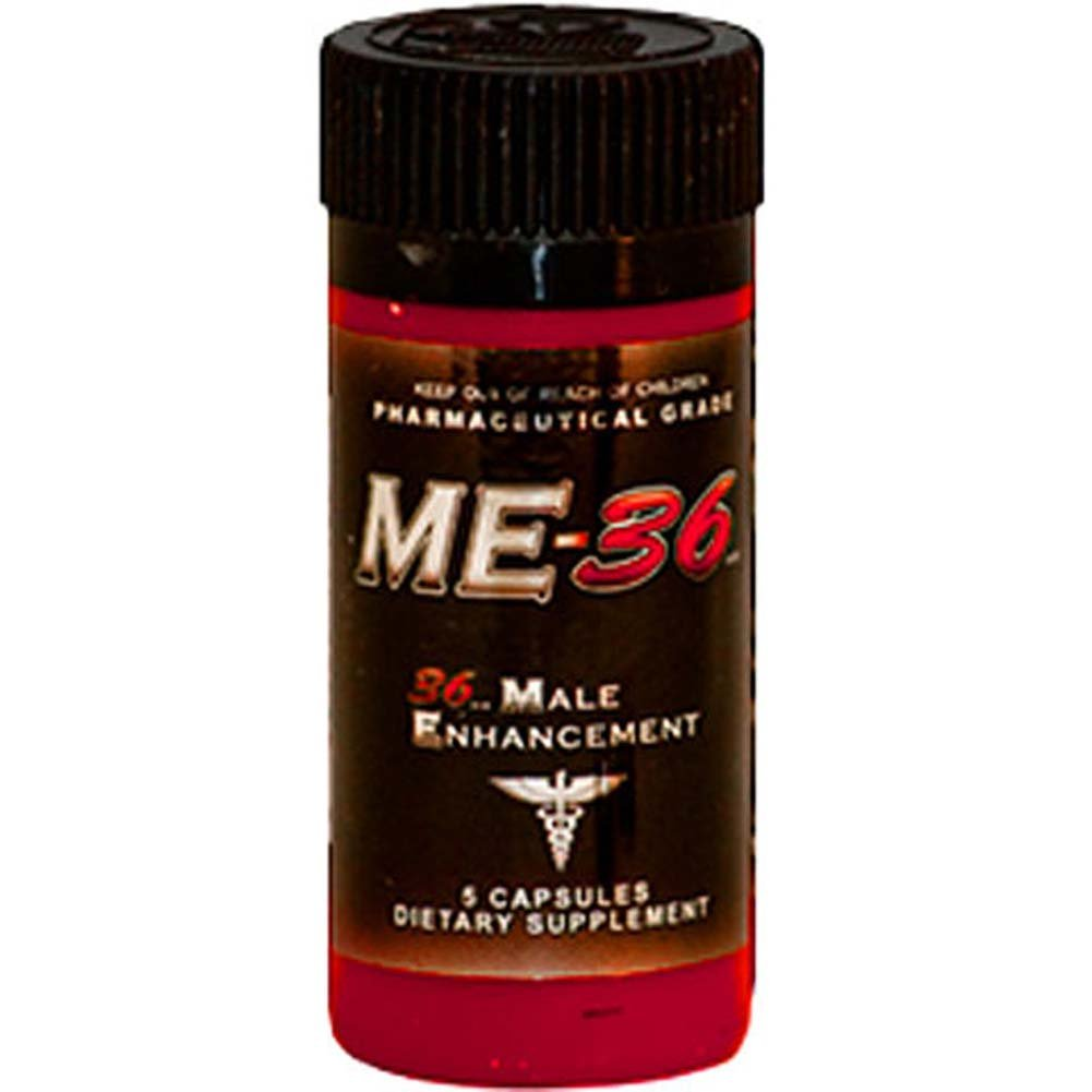 ME 36 Male Enhancement 5ct Capsule Bottle - View #1