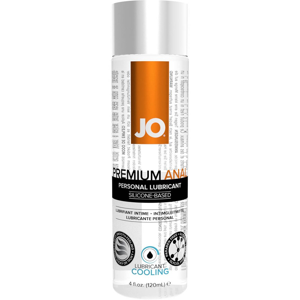 JO Premium Anal Cooling Silicone Personal Lubricant 4 Fl Oz 120 mL - View #1