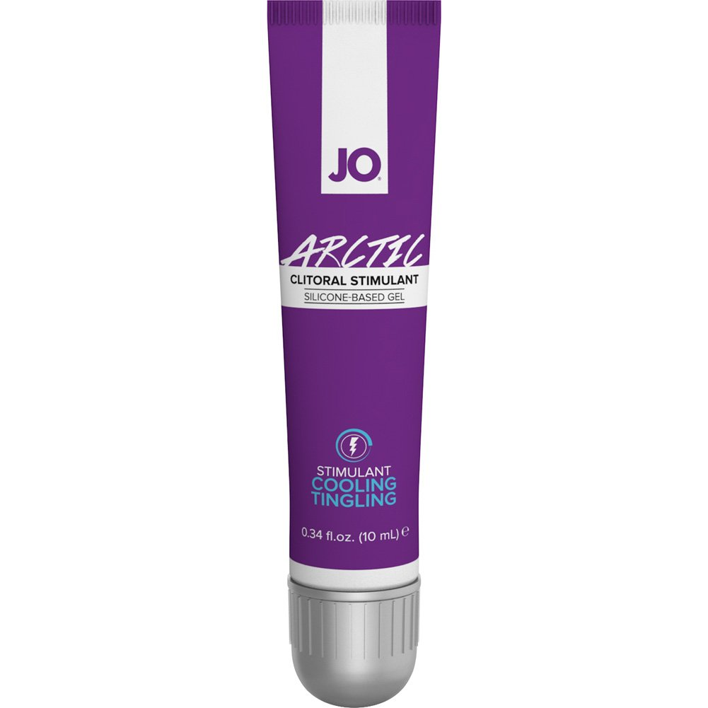 JO for Her Arctic Clitoral Silicone Based Stimulant Gel 0.34 Fl.Oz 10 mL Tube - View #2