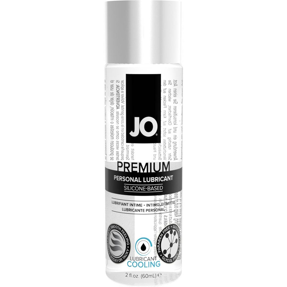 JO Premium Cooling Personal Silicone Based Lubricant 2.5 Fl. Oz. 74 mL - View #1